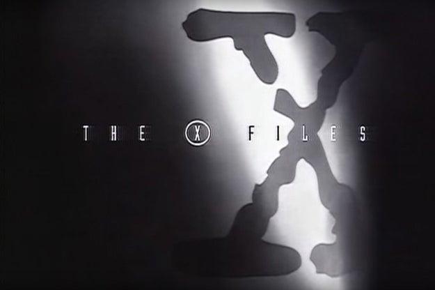 The X-Files theme...