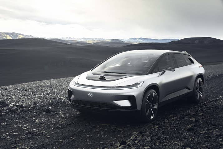 Troubled Faraday Future Unveils New Species Of Electric Car