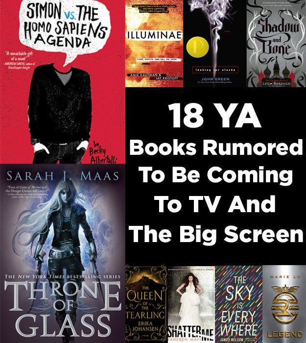 18 Ya Novels That Are Currently Being Developed For Tv And The Big