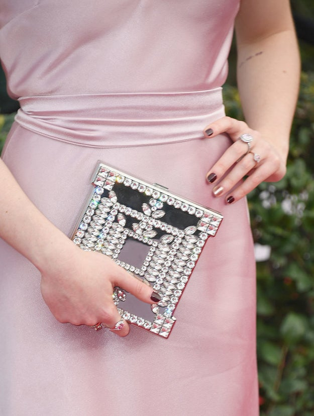 And this stunning clutch is the ideal place to store a Frey pie recipe, right?
