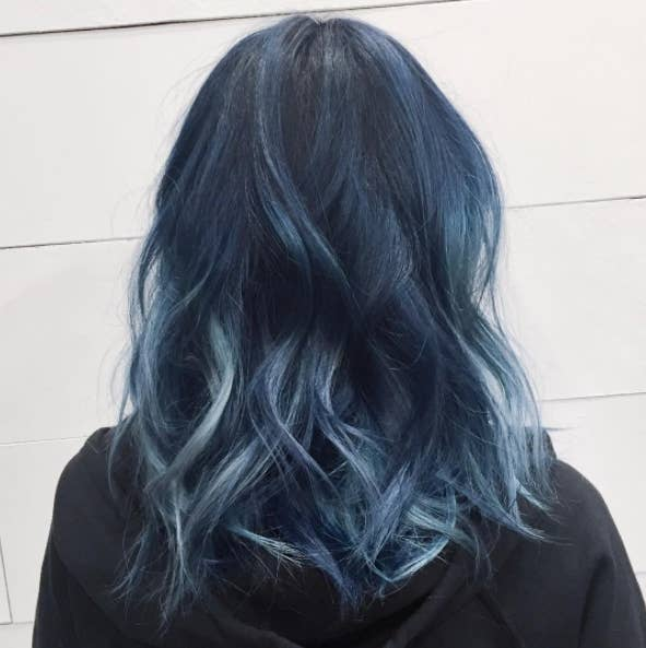 16 pieces of definitive proof that blue hair is the 2017 trend you or just go for this classic color urmus Images