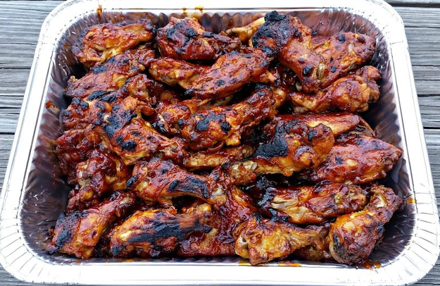 3-Ingredient Slow Cooker BBQ Wings