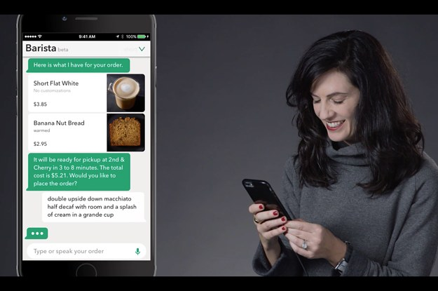 Soon You'll Be Able To Talk To The Starbucks App Instead Of