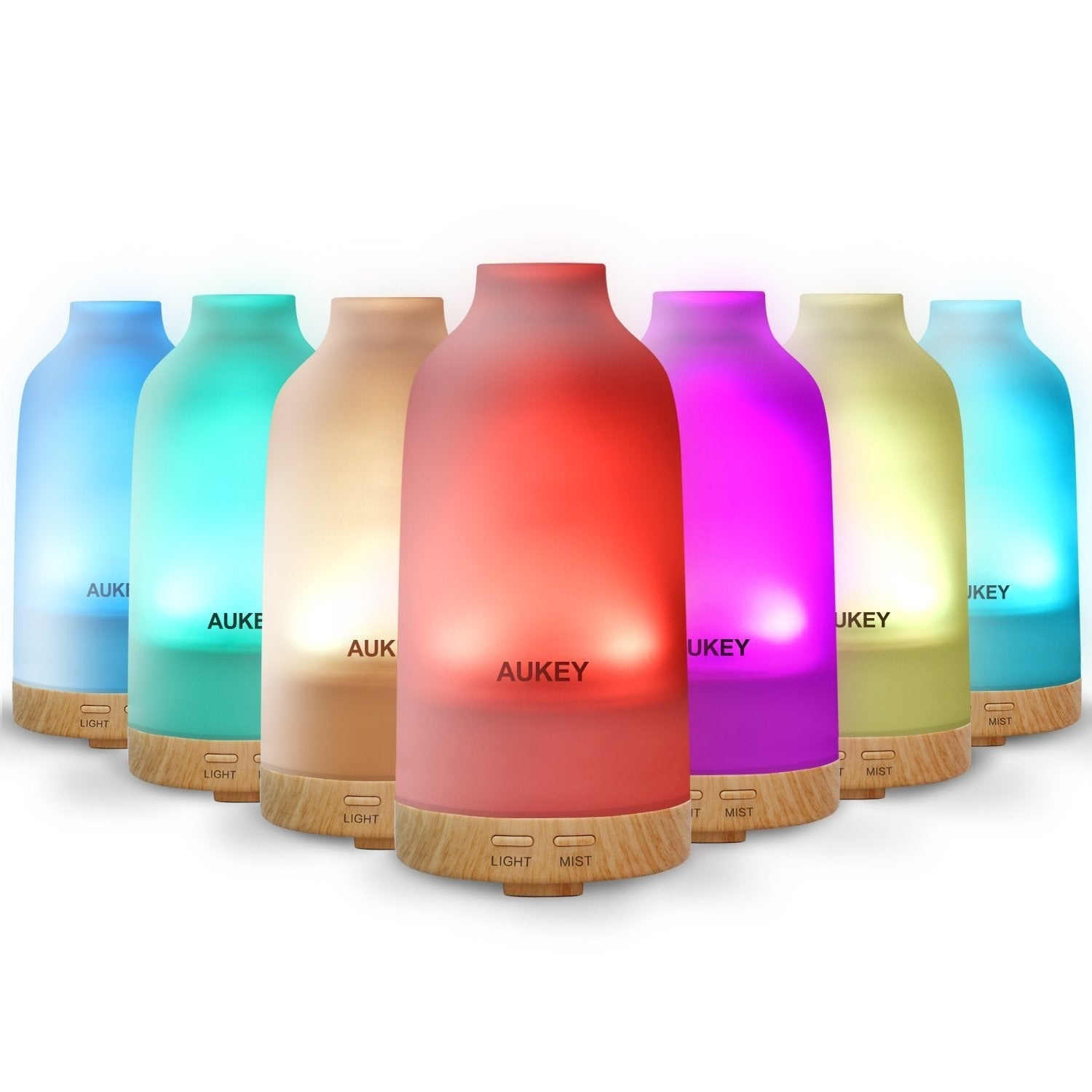 23. A humidifier/diffuser that can change into seven different colors. #B511BA