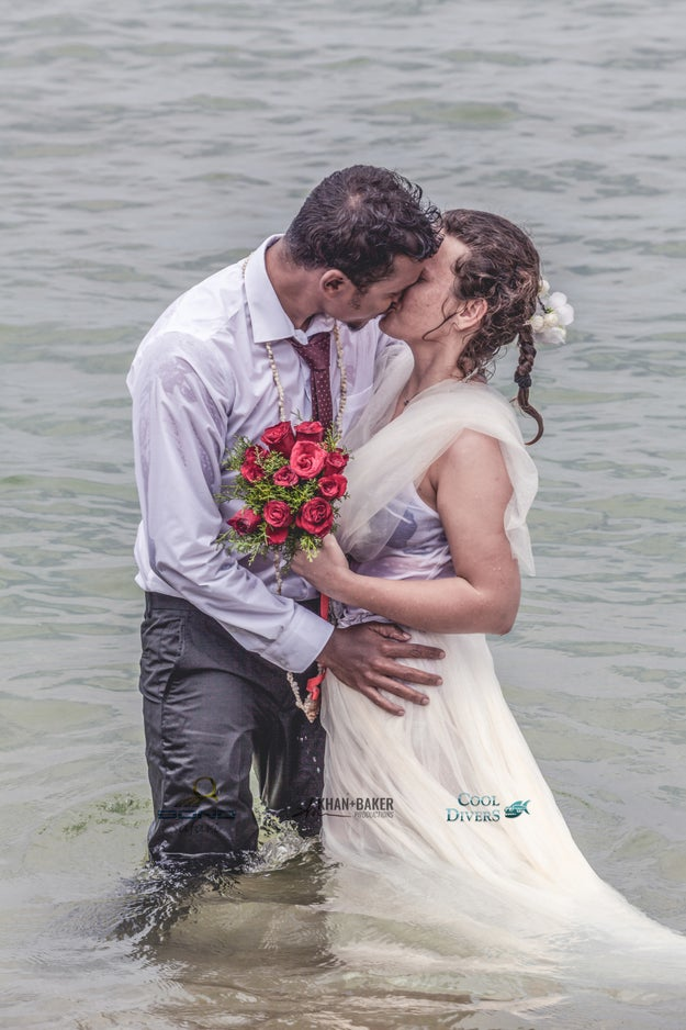 The couple stated that they will have another formal ceremony in Slovakia.
