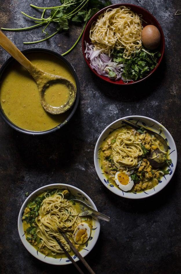 Burmese Noodle Soup