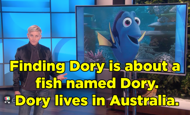 She found more than a few parallels in Dory's story.