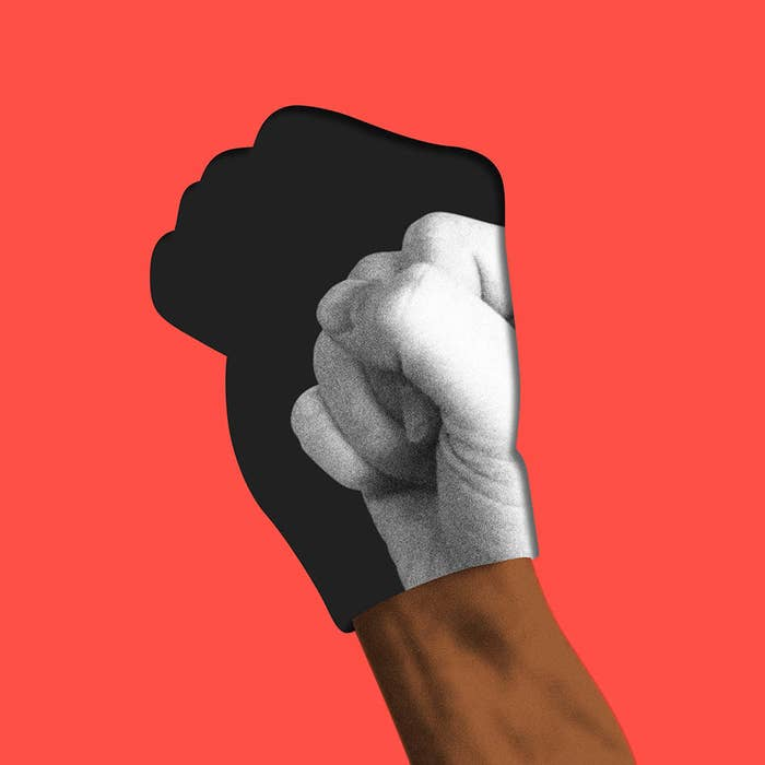 What Does The Raised Fist Mean In 2017