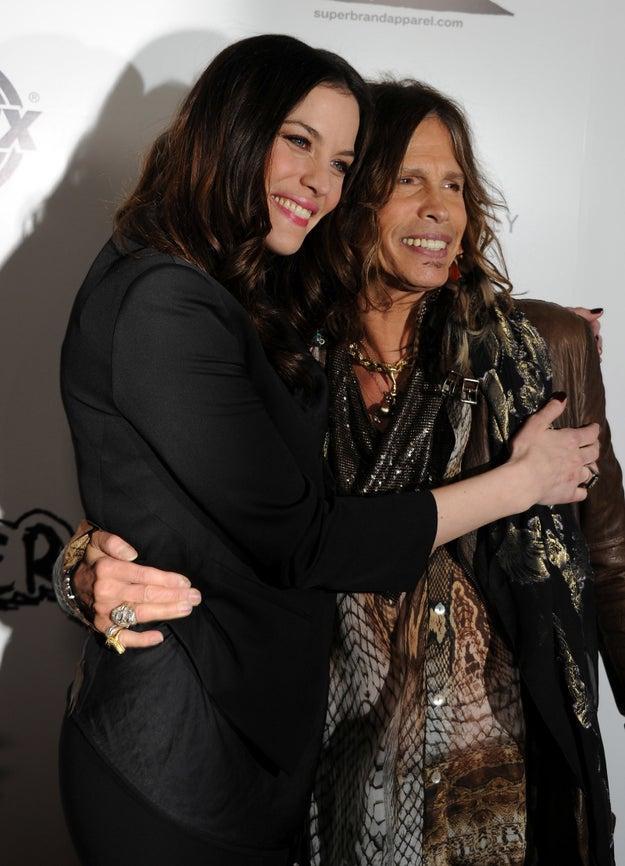 Liv y Steven Tyler.