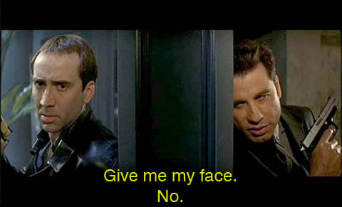 Of the five Best Picture nominees at the 70th Annual Academy Awards in 1998, not a single one involved John Travolta trading faces with Nicolas Cage.