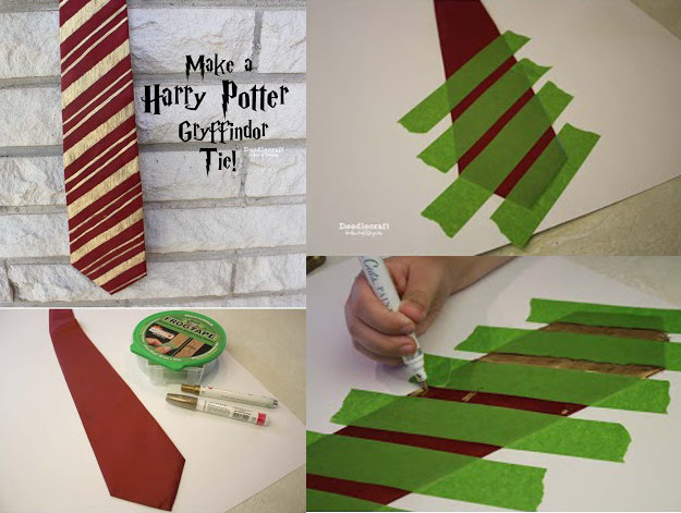 photograph about Harry Potter Tie Printable identify 27 Harry Potter DIYs That Are Essentially Magic