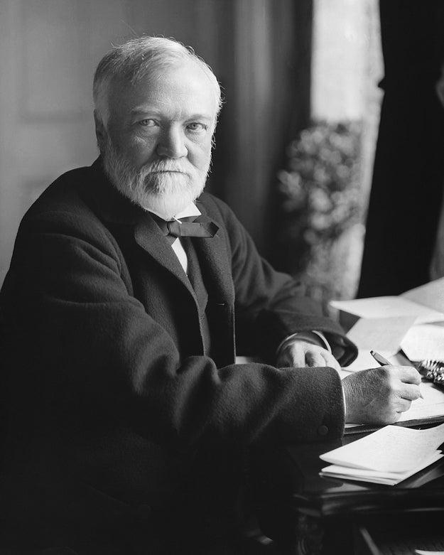 Andrew Carnegie, Scotland