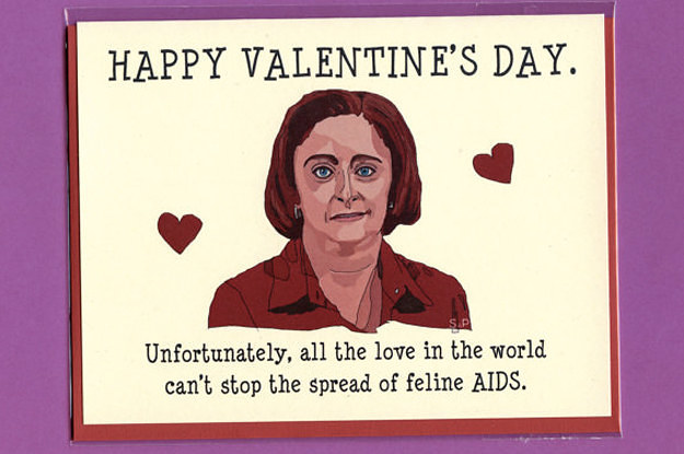 24 Valentines Cards Guaranteed To Make You Feel Awkward – Awkward Valentines Card
