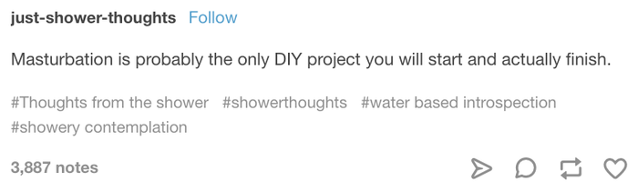 Just Shower Thoughts Tumblr Com
