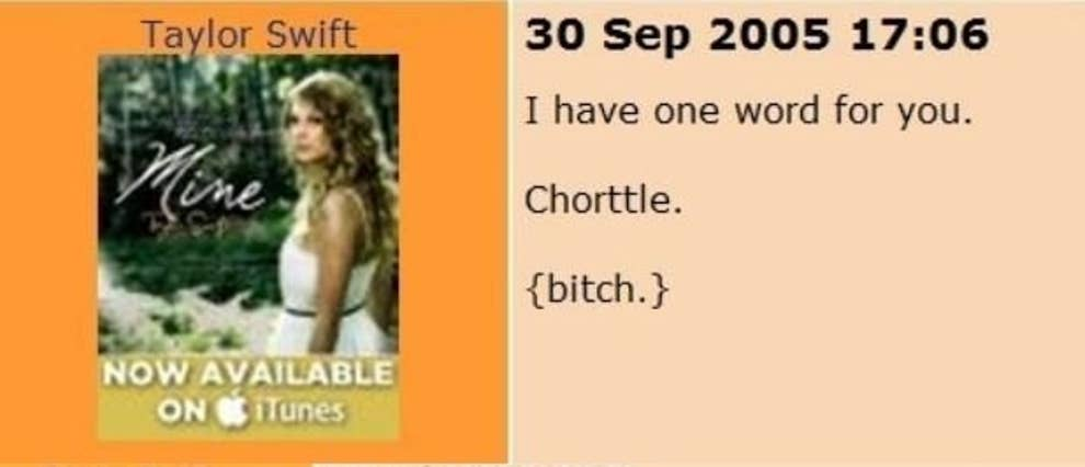 Every Single Time Taylor Swift Has Ever Cursed
