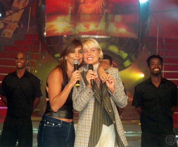 """1997 viu o lançamento do programa """"Planeta Xuxa"""", exibido nas tardes de sábado com diversas apresentações musicais, entrevistas, as Paquitas Nova Geração e os bailarinos do You Can Dance."""