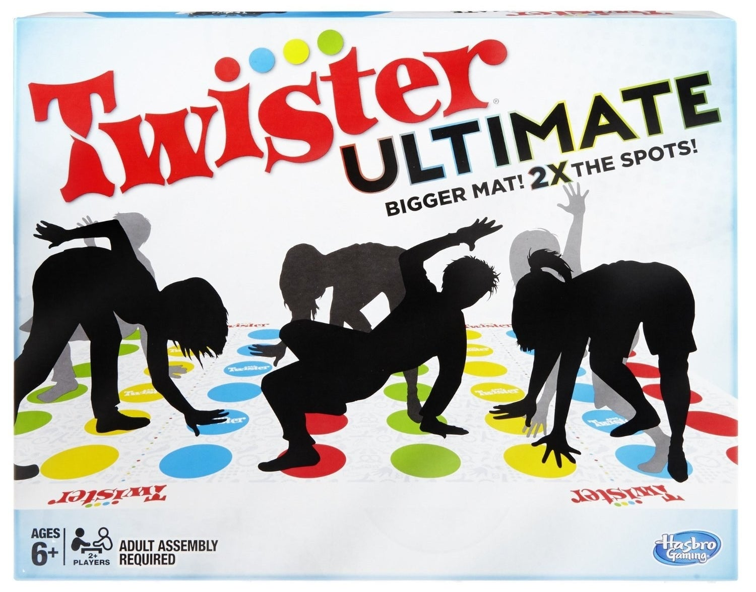 And finally, a round of Ultimate Twister. Not the kind experienced in The Wizard of Oz.