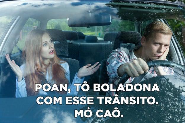Ainda dentro do táxi no Rio, você fala com o motorista usando mais vogal do que quem nasceu no Méier.