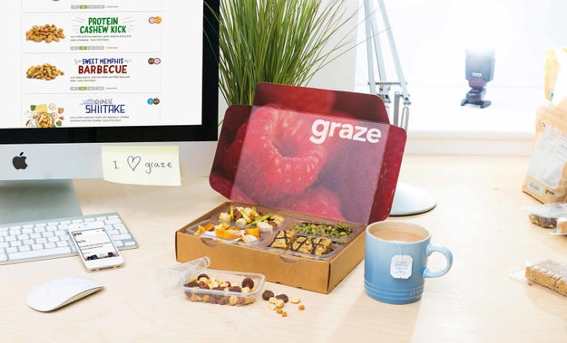 If you've resolved to snack healthier: Graze.