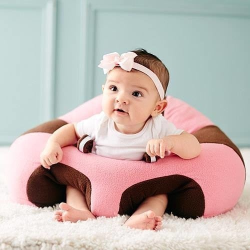 No more sitting your baby up in the boppy and then watching them topple over. Order a Hugaboo Baby Floor Seat from $49.99.