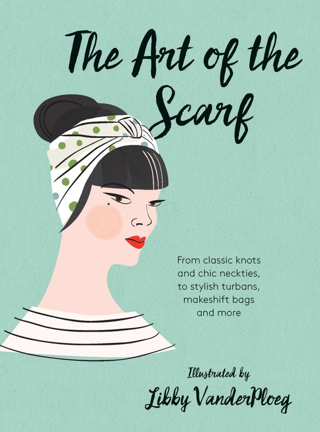 A book that'll turn you into a scarf ~artiste~.