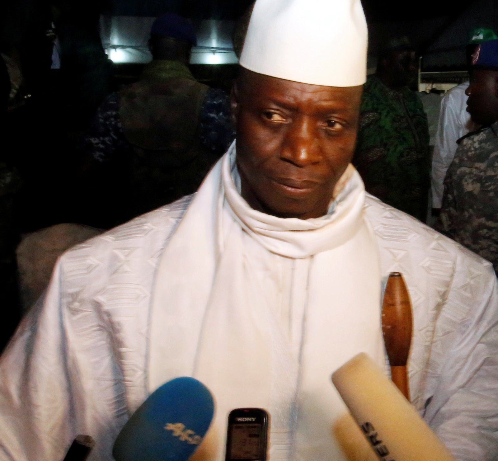 Gambia's President Is Paying Mercenaries To Help His Cause After Shocking Election Defeat