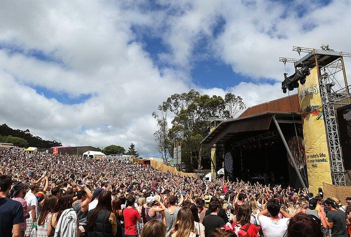 A 2012 Falls Festival event in Lorne, Victoria.