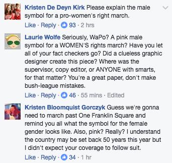 Washington Post Express | Facebook comments