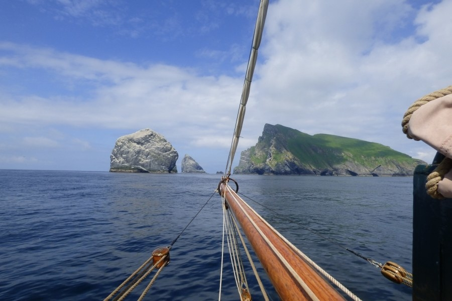 Sail to St. Kilda on a restored Danish sailing ship.