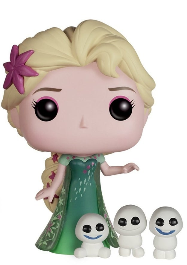 ¿Sabes que objeto decorativo le hace falta a tu casa? ¡Esta Elsa de vinilo! ($542).