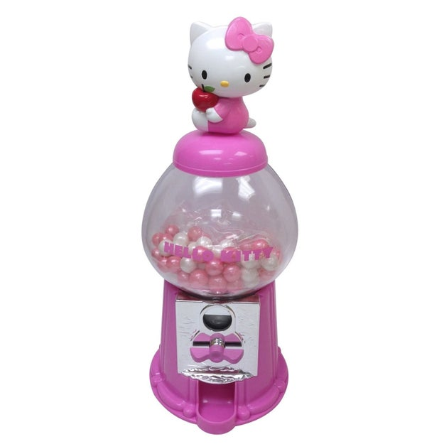Este dispensador de chicles de Hello Kitty es la monada que no sabías que necesitabas ($366).
