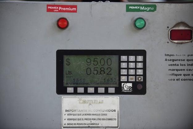Muchas cosas dependen del precio de la gasolina.