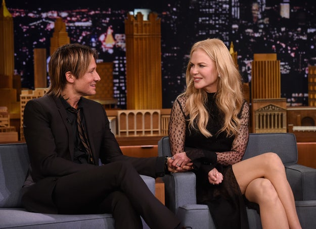 Nicole Kidman and Keith Urban are King and Queen of Australia. I think. I don't even know. I just assumed they were, but I could be wrong.