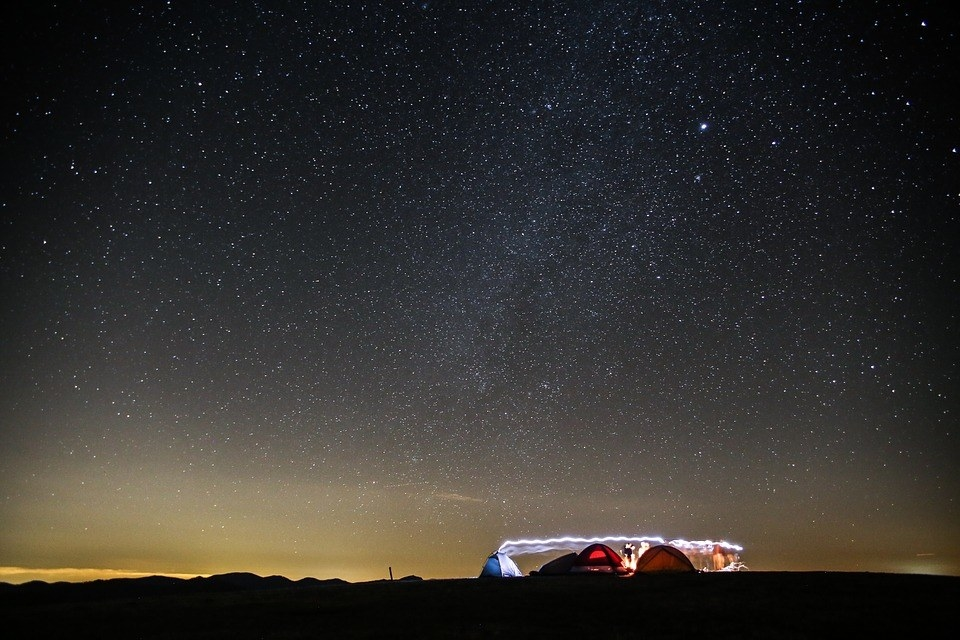 Go wild camping (and stargazing) on the Isle of Coll.