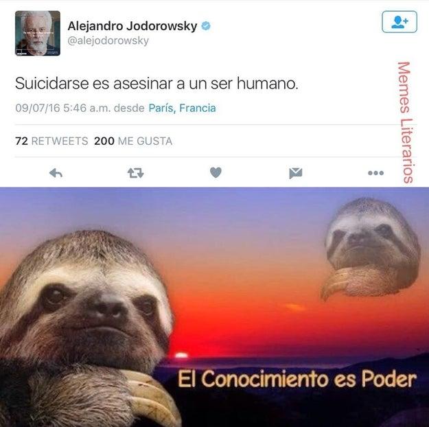 Y Alejandro Jodorowsky.
