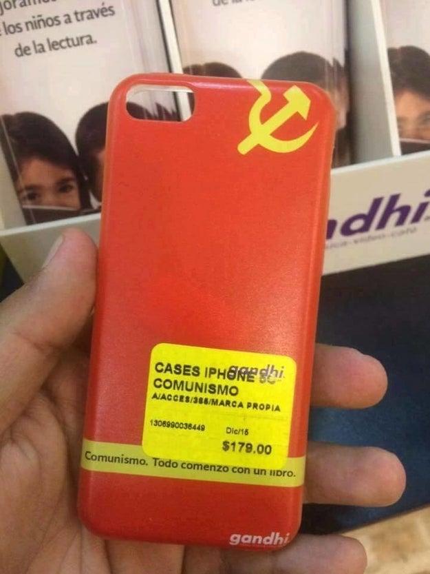 Este comunista confundido.