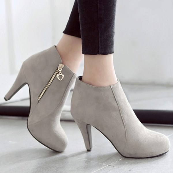 Elegant stiletto ankle boots for an instant upgrade.