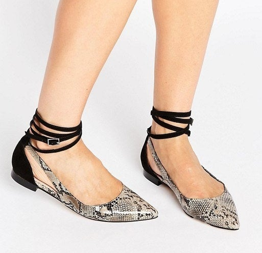Get them at Asos for $13.50, sizes 4–11.