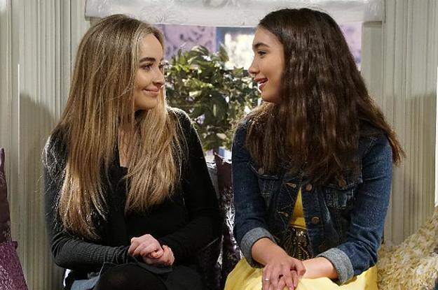 Remarkable Rowan Blanchard And Sabrina Carpenter Share Heartfelt Gmtry Best Dining Table And Chair Ideas Images Gmtryco