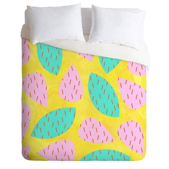 28 bedding sets that are almost too cool to sleep on bring an absolutely cannot kill succulent into your home with a prickly cactus duvet cover gumiabroncs Choice Image