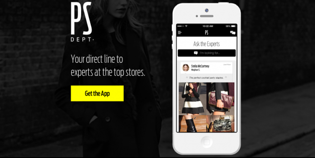 Get a free online personal shopper with apps like PS Dept.