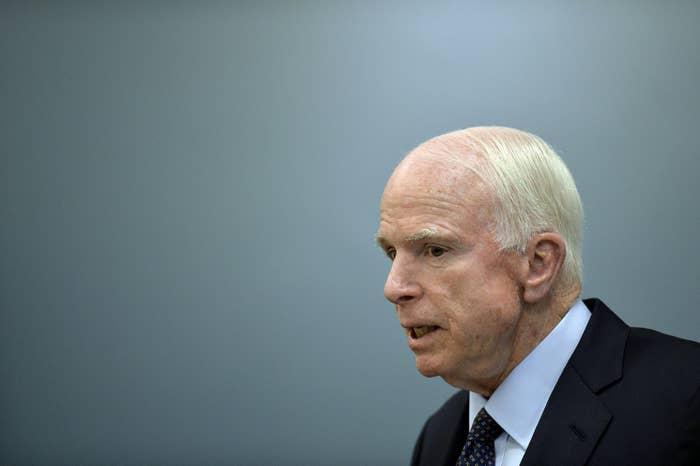 US Republican Senator John McCain