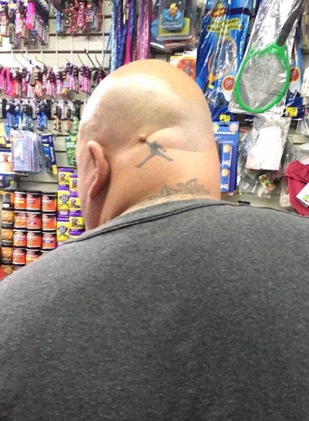 This dunktastic Air Jordan tattoo: