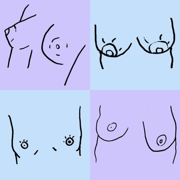 Voilà pourquoi on a parfois un sein plus gros que l'autre