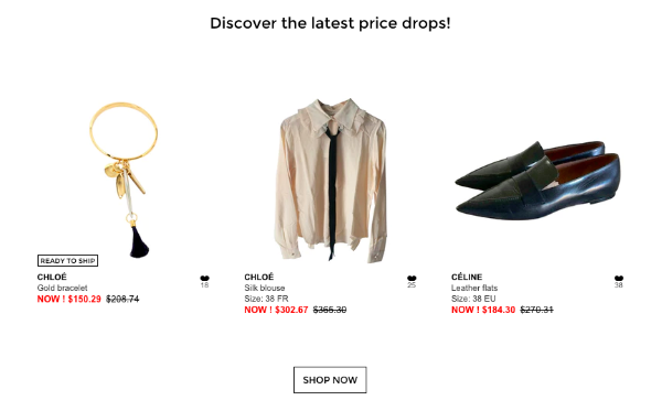Find some major steals and deals on designer items using online consignment sites.