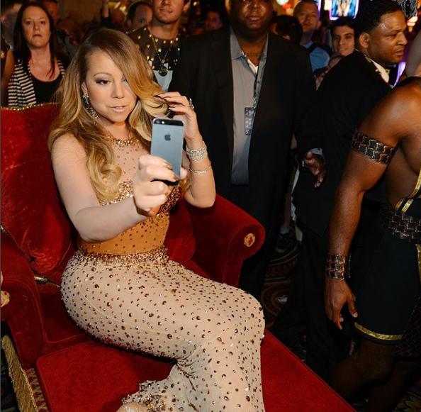 Selfies for Mariah Carey:
