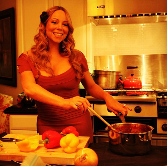 Cooking for Mariah Carey: