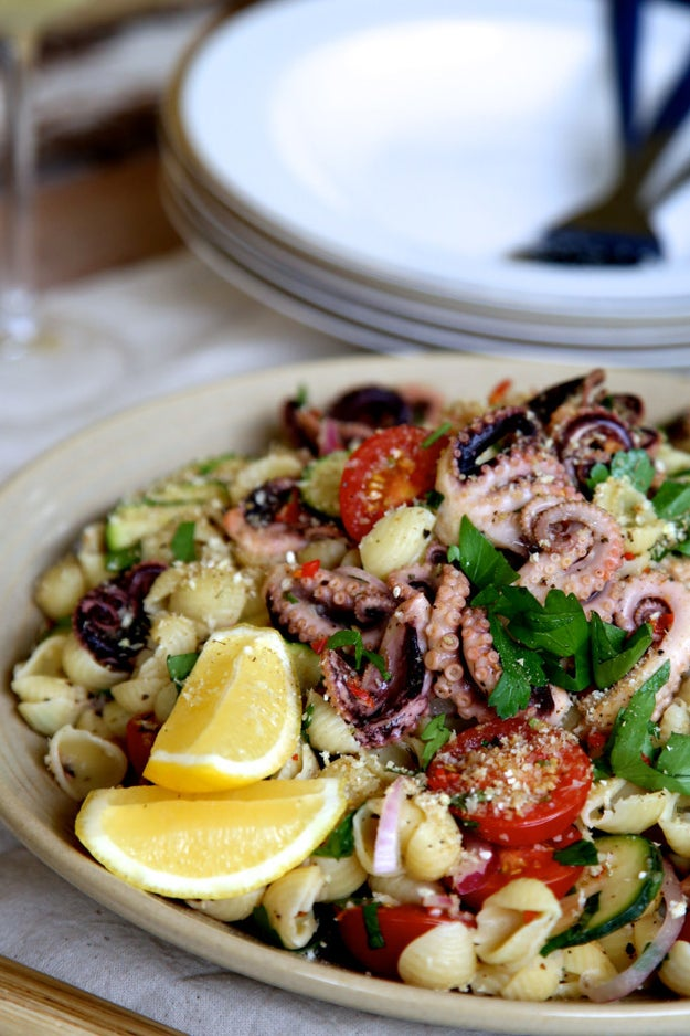 You'll be eating more octopus.