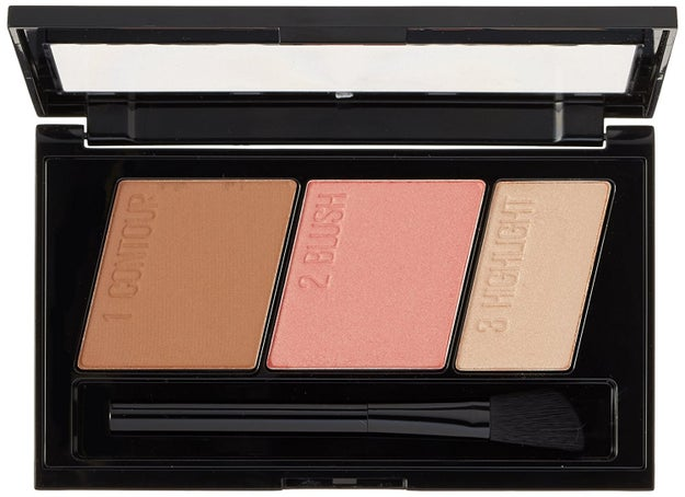 A three-in-one palette that makes contouring basically foolproof.