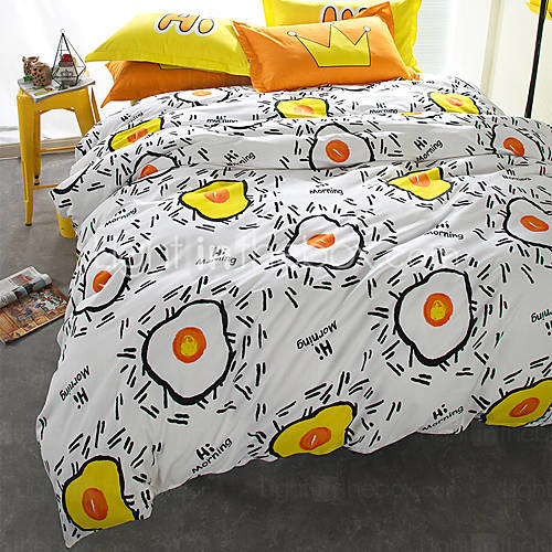 Includes A Duvet Cover, Flat Sheet, And Two Shams.Get Them From Light